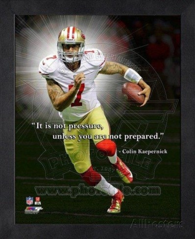 Kaepernick Football Quote 1 Picture Quote #1