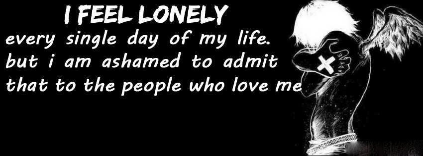Facebook Loneliness Quote 1 Picture Quote #1