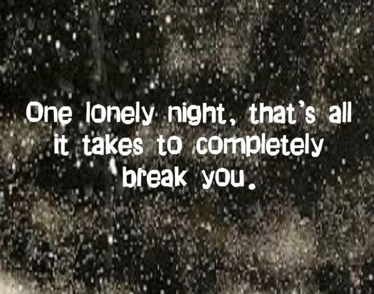 Dark Loneliness Quote 2 Picture Quote #1