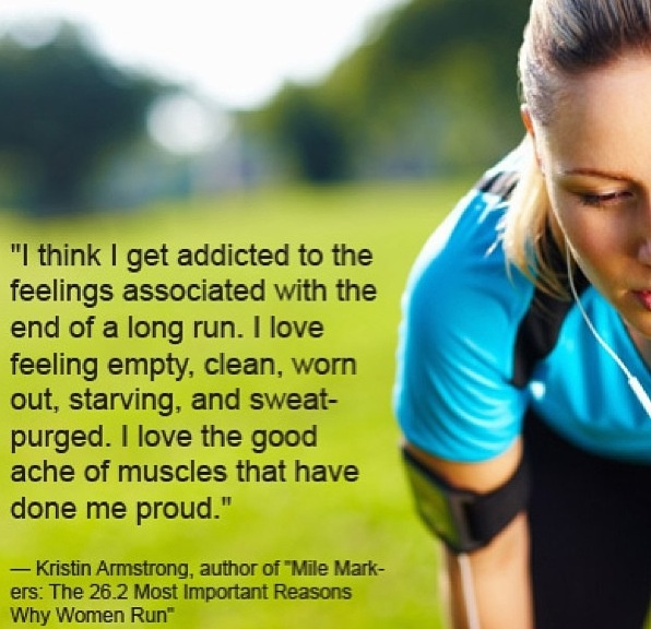 Kristin Armstrong Running Quote 1 Picture Quote #1