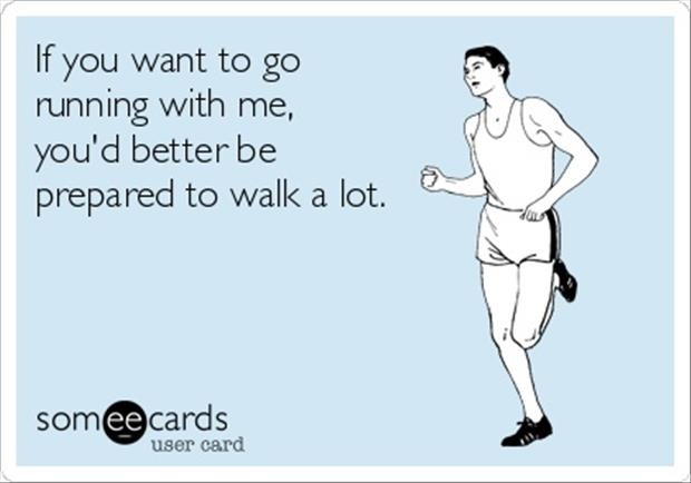 Funny Running Quote 1 Picture Quote #1