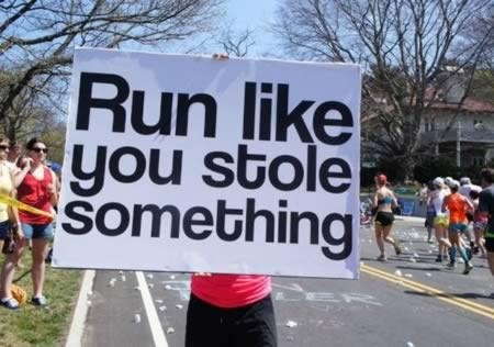 Funny Running Quote 2 Picture Quote #1