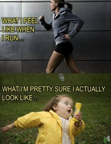 Funny Running Quote 4 Picture Quote #1