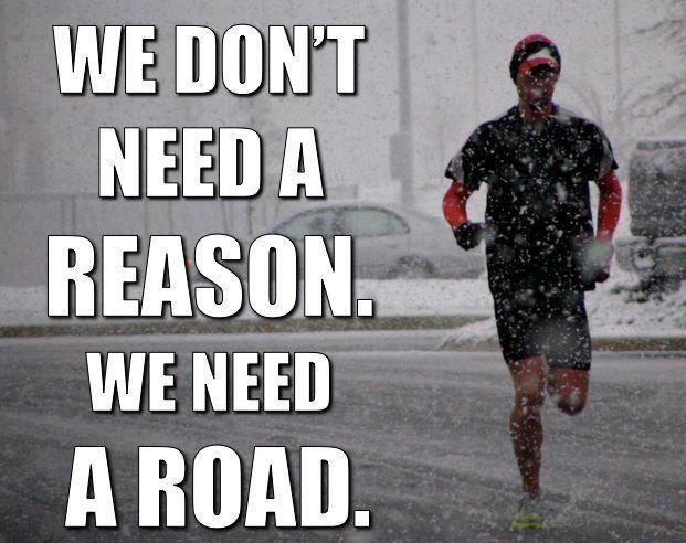 Winter Running Quote 2 Picture Quote #1