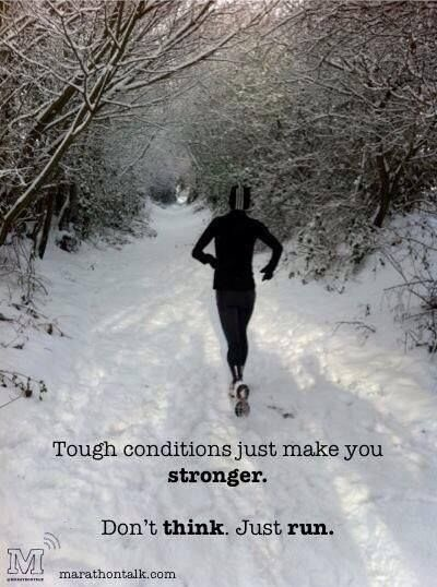 Winter Running Quote 10 Picture Quote #1