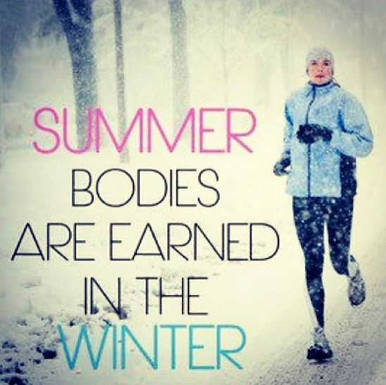 Winter Running Quote 12 Picture Quote #1