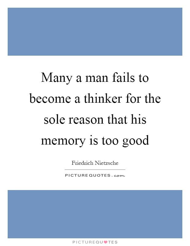 Good thinker