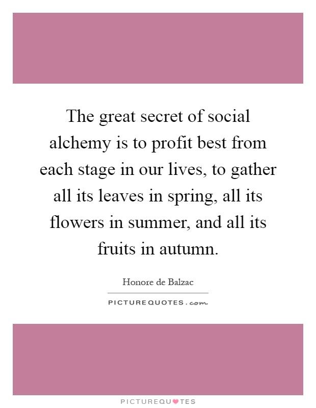 alchemy secrets quotes