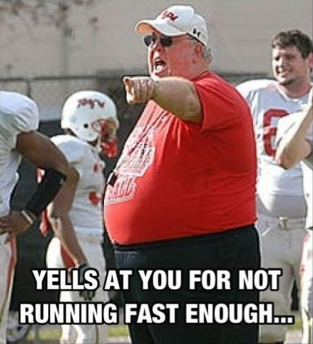 Funny Fat People Running Quote 1 Picture Quote #1