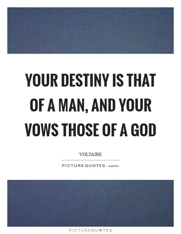 The Destiny of Man Summary