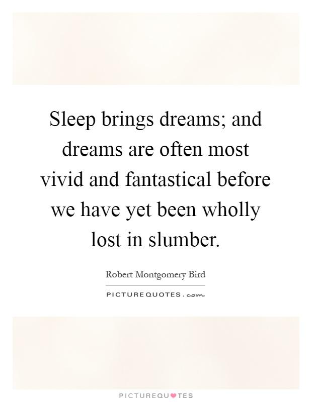 my most interesting dream