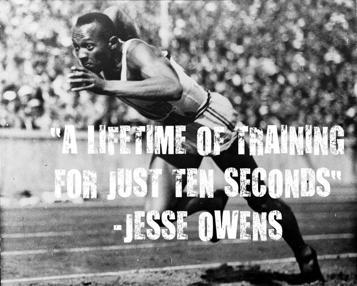 Running Quote Jesse Owens 1 Picture Quote #1