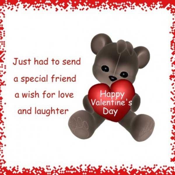 Valentine Quote For Friends 1 Picture Quote #1