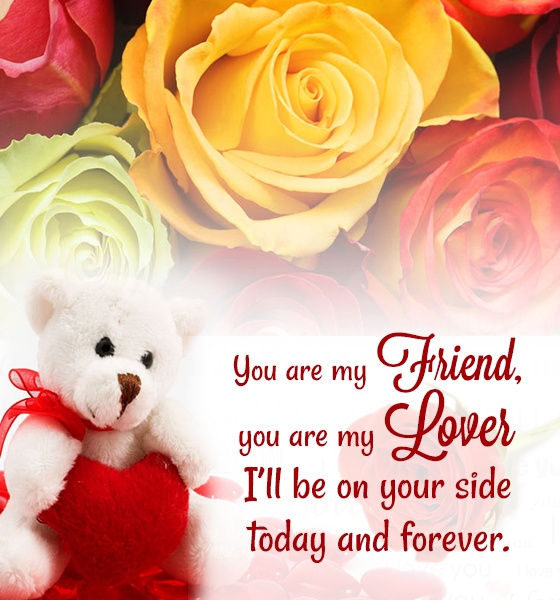 Valentine Quote For Her 1 Picture Quote #1