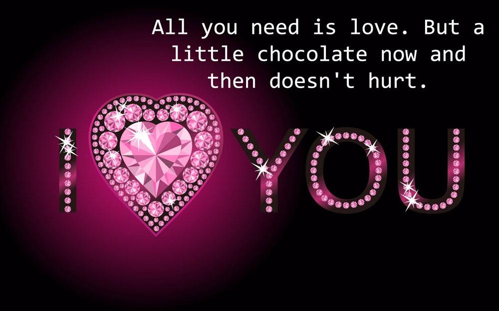 Cute Valentine Quote 1 Picture Quote #1