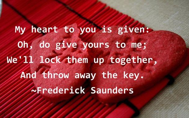 Famous Valentine Quote 1 Picture Quote #1