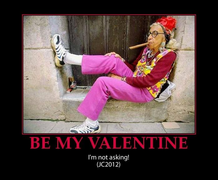 Mean Valentine Quote 1 Picture Quote #1