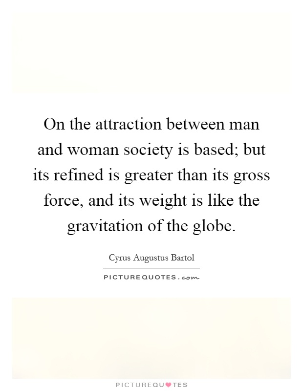 What Is Attraction Between A Man And A Woman