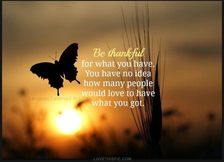 Thankful Quote 1 Picture Quote #1