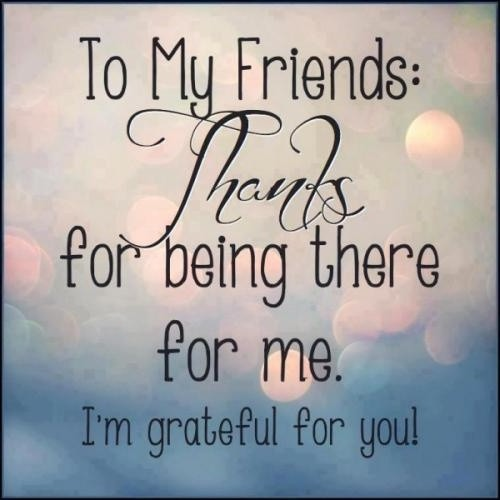 Thankful Quote For Friends | Quote Number 577907 | Picture ...