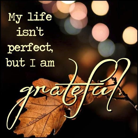 Being Thankful Quote For Life 1 Picture Quote #1
