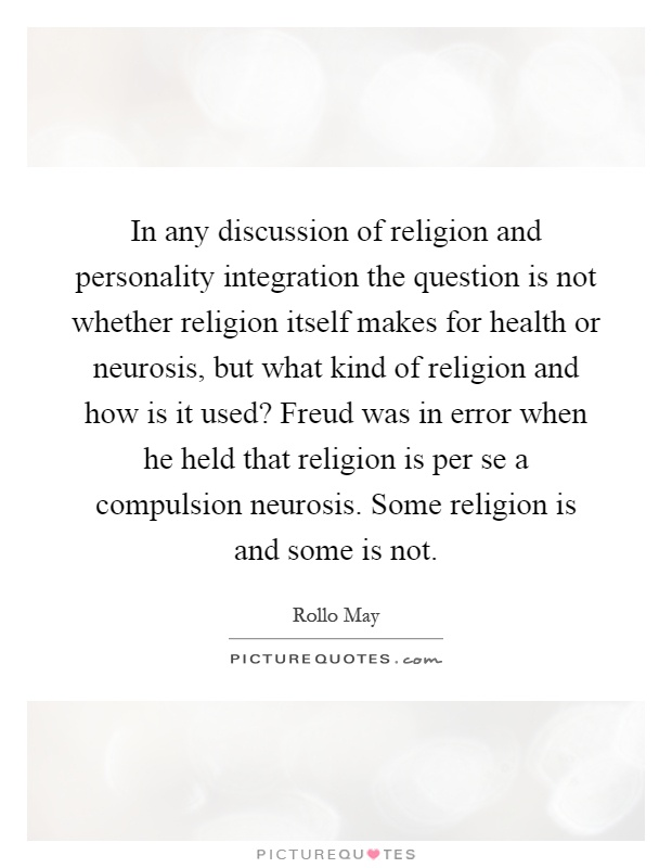 a discussion of freuds ideas on neurosis Sigmund freud questions and answers  what were sigmund freud's ideas about  a neurosis is a generally mild form of mental illness manifesting as unease or .