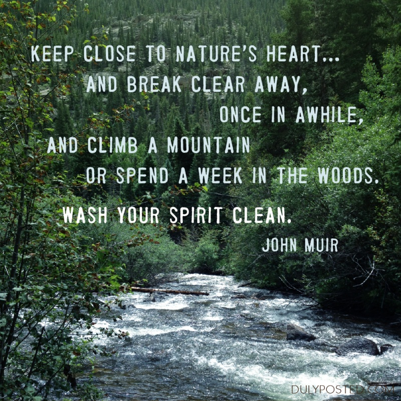 Spirit Nature Quote 1 Picture Quote #1