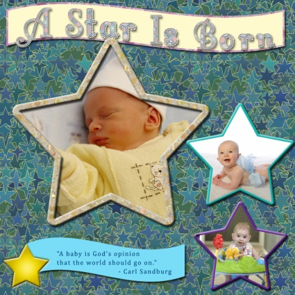 Baby Quote For Scrapbooking 1 Picture Quote #1