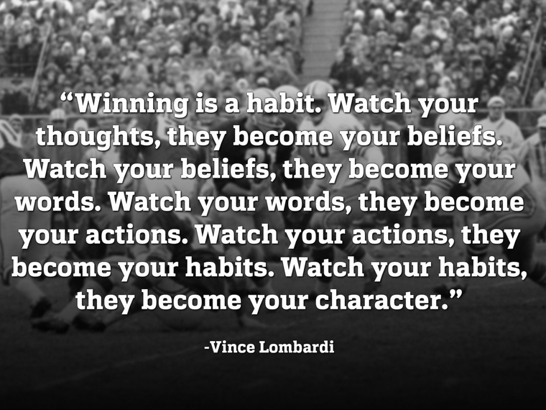 Vince Lombardi Inspirational Quote 2 Picture Quote #1