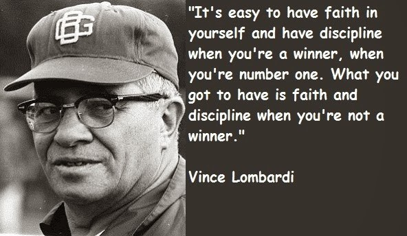 Vince Lombardi Quote On Success 2 Picture Quote #1
