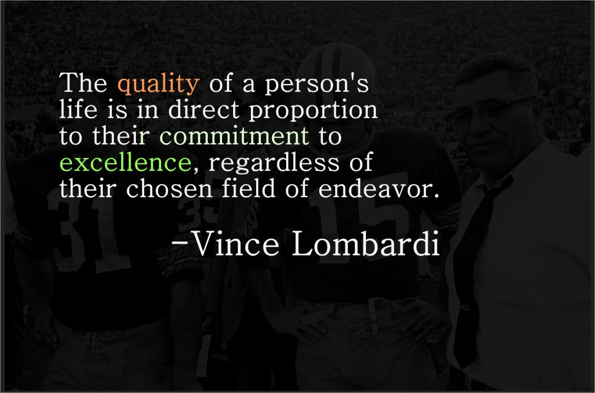 Vince Lombardi Quote 1 Picture Quote #1