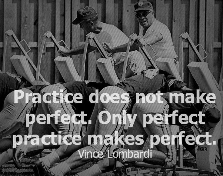 Vince Lombardi Practice Quote 1 Picture Quote #1