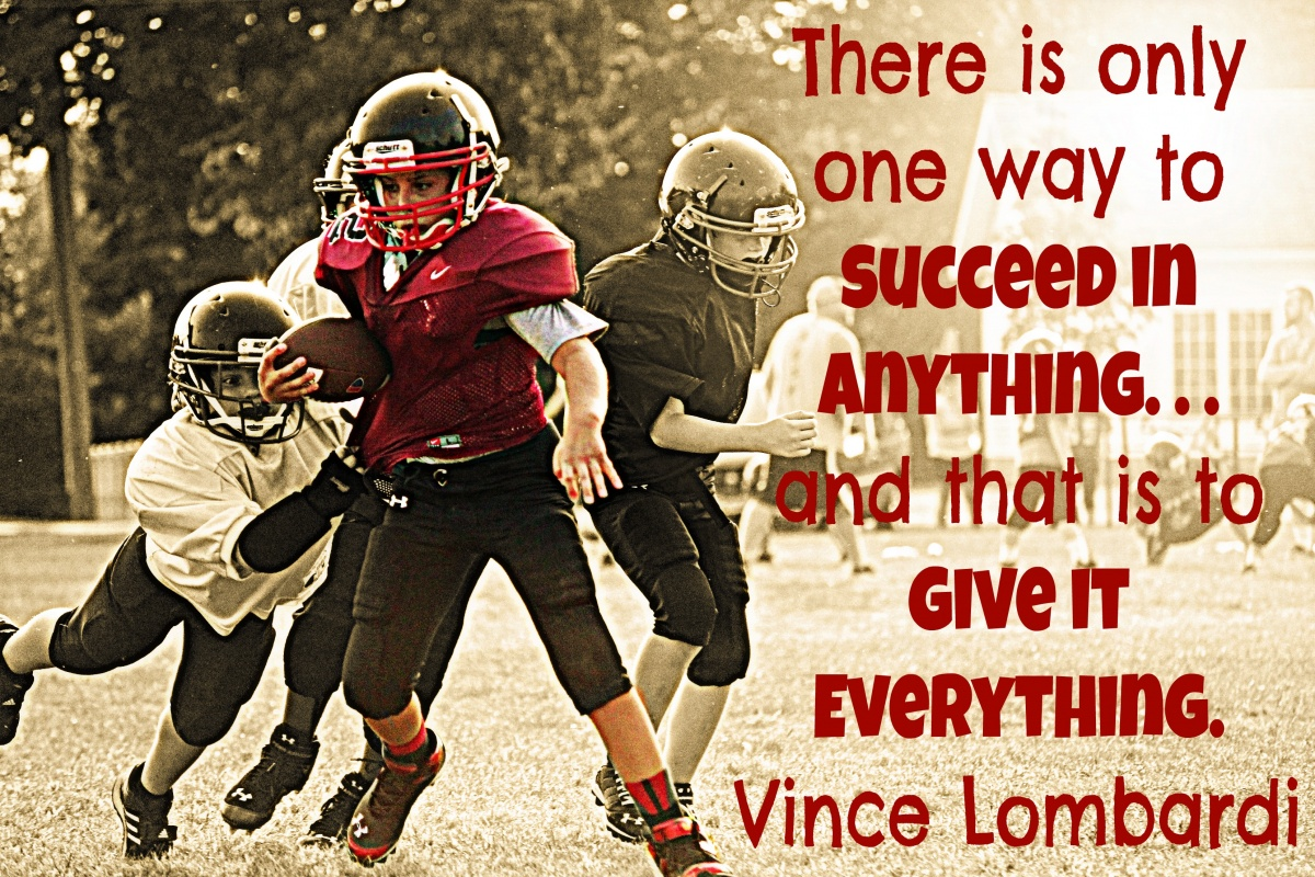 Vince Lombardi Football Quote 3 Picture Quote #1