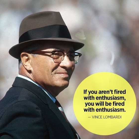 Vince Lombardi Quote 3 Picture Quote #1
