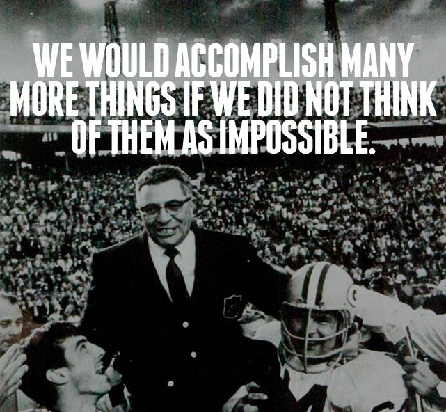 Vince Lombardi Quote 5 Picture Quote #1