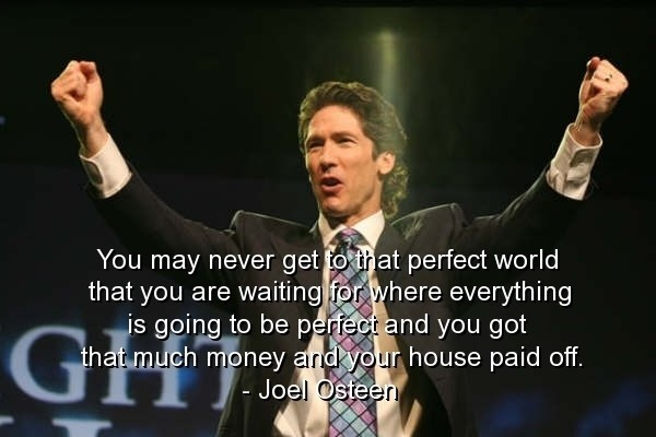 Joel Osteen Quote 2 Picture Quote #1