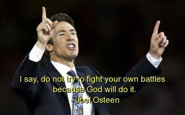 Joel Osteen Quote 4 Picture Quote #1