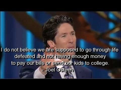 Joel Osteen Quote 5 Picture Quote #1