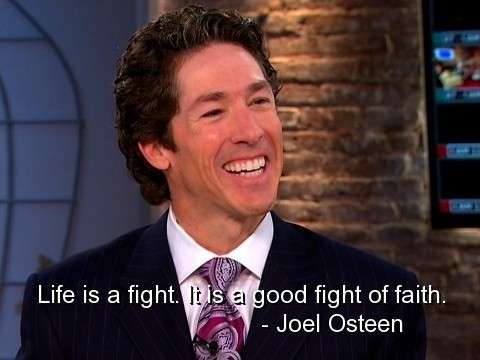Faith Joel Osteen Quote 1 Picture Quote #1