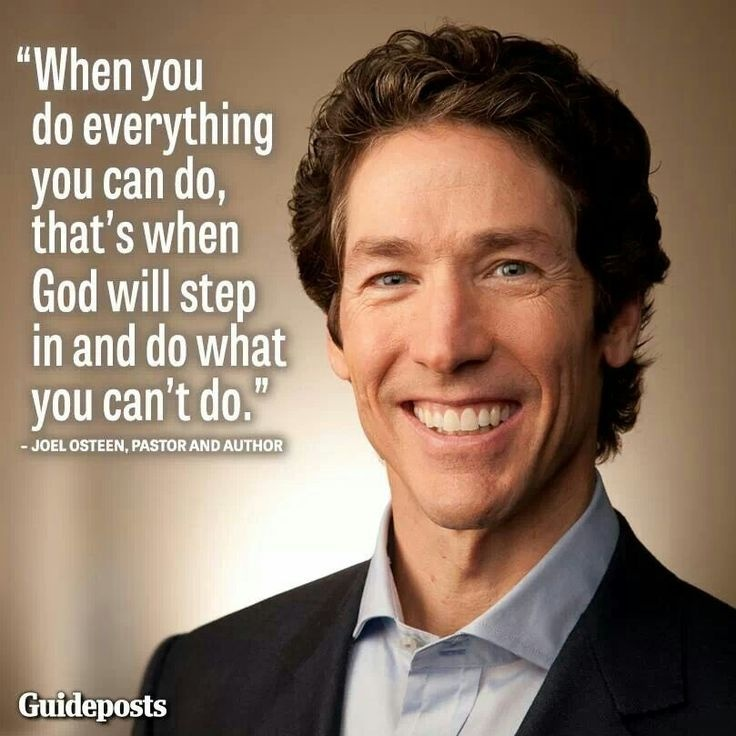 Joel Osteen Quote 18 Picture Quote #1