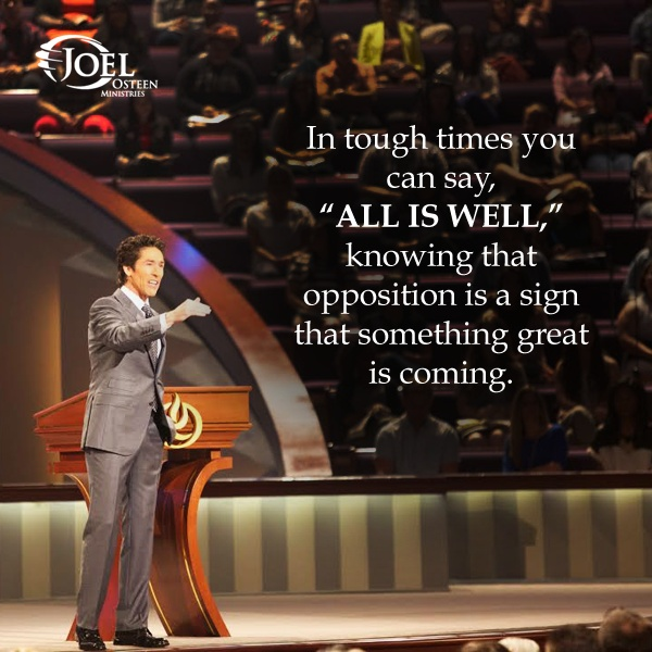 Joel Osteen Quote 20 Picture Quote #1