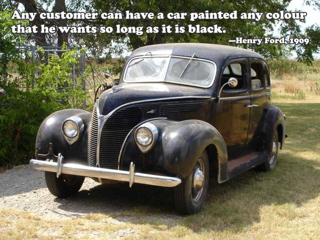 Henry Ford Quote About Cars 1 Picture Quote #1