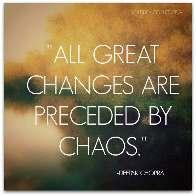 Deepak Chopra Quote About Change 1 Picture Quote #1