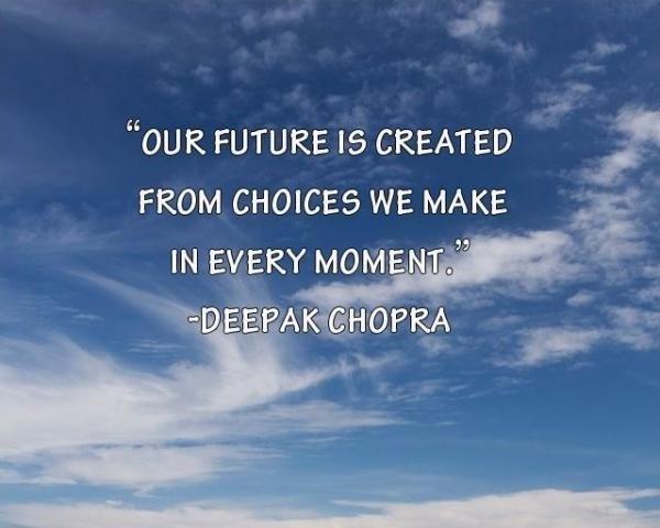 Deepak Chopra Quote 7 Picture Quote #1