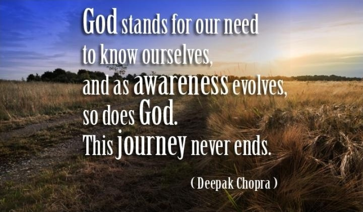 God Deepak Chopra Quote 2 Picture Quote #1