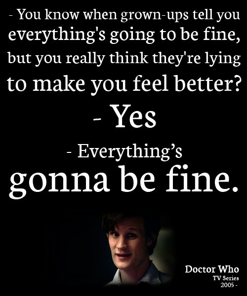 11th Doctor Who Funny Quote 1 Picture Quote #1