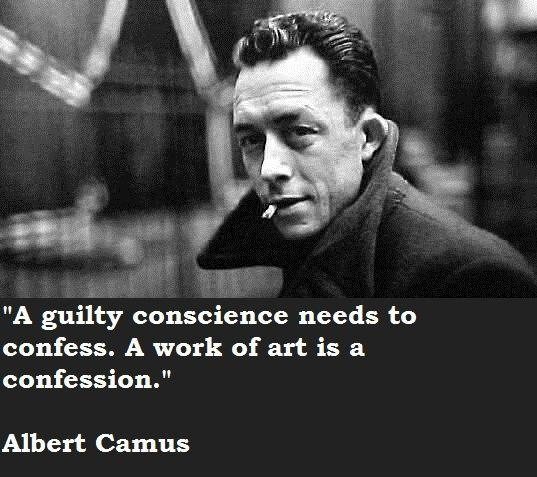 A guilty conscience needs to confess. A work of art is a confession Picture Quote #2