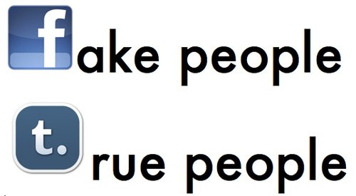Facebook Quote About Fake People 1 Picture Quote #1