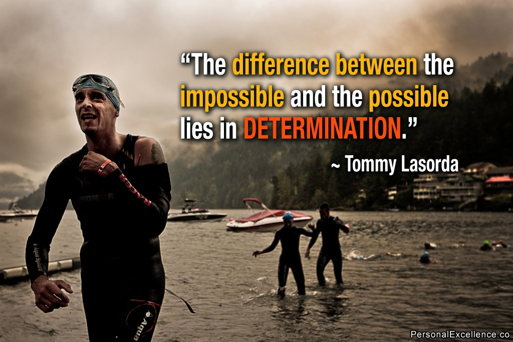 Determination Quote Inspirational 2 Picture Quote #1
