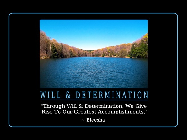 Determination Quote Inspirational 4 Picture Quote #1